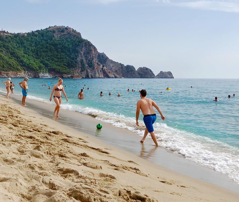 Пляж Алании